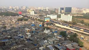 building a slum mumbai wilson center in mumbai a highway divides the ldquoformal cityrdquo and the ldquoinformal city rdquo