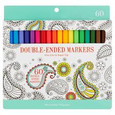 adult coloring books com coloring markers