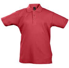 <b>Рубашка поло детская Summer</b> II Kids 170, красная (артикул ...