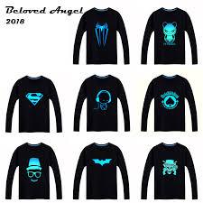 <b>2018</b> Luminous Long Sleeve <b>T Shirt</b> For <b>Boys T Shirt</b> Batman ...
