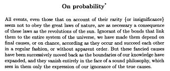 conditional probability and bayes rule above < biochemistries in fact laplace discusses testimony throughout the essay including several times just in the first chapter