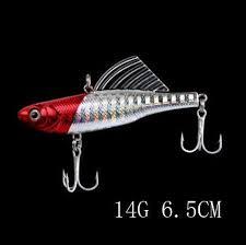 9 colors 14g <b>6.5cm</b> 1pcs winter <b>fishing lure</b> hard <b>bait</b> VIB with lead ...