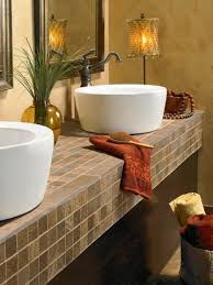 bathroom countertops with white vessel sink ideas and red little towel large size bathroom incredible white bathroom interior nuance