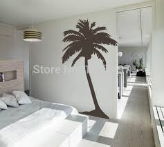 palm tree wall stickers: free shipping large palm tree wall sticker living room tropical wall art house decoration tall