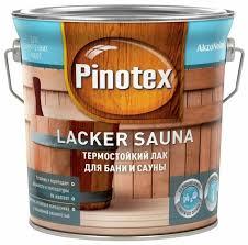 <b>Лак Pinotex Lacker</b> Sauna (2.7 л) водорастворимый — купить по ...