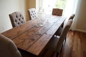Cottage Style Kitchen Tables Farmhouse Style Dining Table Introducing The Charm Of Natural Wood