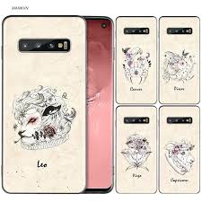 <b>Zodiac</b> Signs <b>Silicone Case For</b> Samsung Galaxy S8 S9 S10 Plus ...