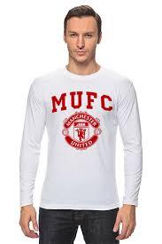 "Лонгслив ""<b>Манчестер Юнайтед</b>"" #2565640 от geekbox - <b>Printio</b>"