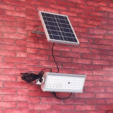 30W Outdoor Solar Flood Light 2500lm 65-<b>LED Radar</b> Sensor <b>IP65</b> ...