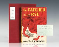 catcher in the rye j d salinger first edition signed rare the catcher in the rye