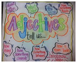 step into 2nd grade mrs lemons adjective activities adjective activities