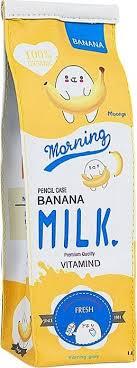 <b>Пенал Kawaii Factory</b> Пакет молока Желтый, цена 340 руб ...