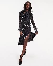 Chiffon polka <b>dot print dress</b> (TOMMY X ZENDAYA) · Tommy Hilfiger ...