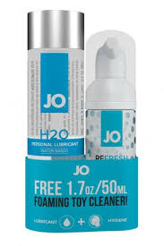 <b>Набор</b> из <b>Лубриканта</b> и Очистителя <b>JO</b> H2O+Cleaner   Чистка ...