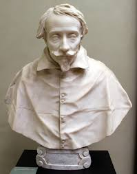 bust of giovanni vigevano gian lorenzo bernini busto del cardenal pietro valier probably designed sketched by gian lorenzo bernini and made by andrea bolgi in the bust is in seminary in venice italia