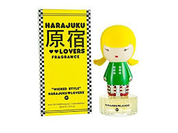 <b>Harajuku Lovers</b> G <b>Wicked</b> Style Eau De Toilette Spray, 1 Fluid Ounce