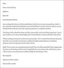 how to write a teacher resignation letter to principal  best  resignation letter teacher resignation letter sample sample uyilmtya