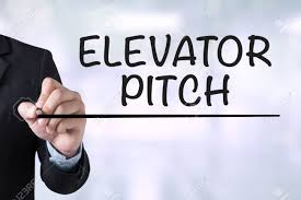 elevator pitch businessman drawing landing page on blurred elevator pitch businessman drawing landing page on blurred abstract background stock photo 55508841