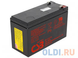 Аккумулятор <b>CSB GP1272 28W</b> 12V7Ah F2 — купить по лучшей ...