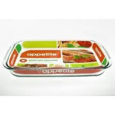 <b>Форма для запекания Appetite</b> Стеклянная прямоугольная ...