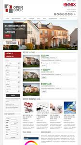 opendoor responsive real estate and car dealership by buchmanndesign opendoor responsive real estate and car dealership
