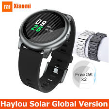 Xiaomi <b>Haylou Solar Smart Watch</b> Global Version IP68 Waterproof ...