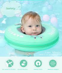 Однотонный детский нашейный плавательный <b>круг</b> детский ...