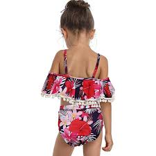 <b>Mother</b> and <b>Daughter</b> Print Two Piece Swimsuit Matching Swimsuit ...
