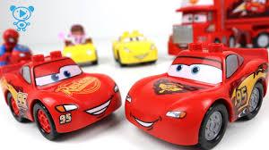 <b>Cars 3 toys cartoon</b> stop motion animation - Spiderman, <b>Cars 3</b> ...