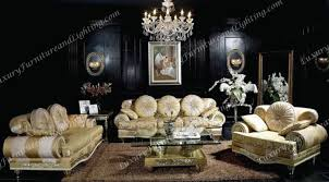 w luxury expensive living room set