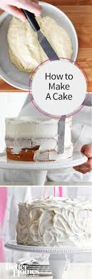 how to make a cake