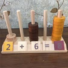 2019 <b>New Wooden Baby</b> Toys <b>Montessori</b> Beaded Digital Counter ...
