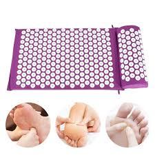 Kantan® <b>Acupressure Massager Cushion</b> Yoga <b>Mat</b> Set <b>2pcs</b> in ...