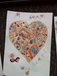 '<b>map of my heart</b>' - children's project inspired by Sara Fanelli's 'My ...