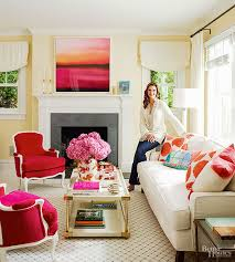house tour brooke shields bhg living rooms yellow