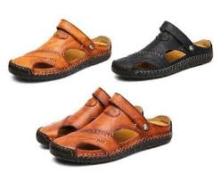<b>Men Soft Sandals Classic</b> and Roman Style Comfortable Leather ...