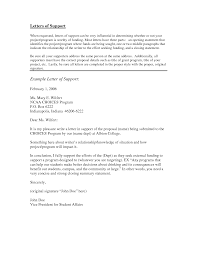letter of support example anuvrat info letter of support example crna cover letter