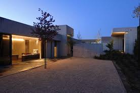 Contemporary Spanish Concrete Home Building With Open Facade       Modern Concrete House Built For Luxury Atmosphere  Contemporary Spanish Concrete Home Building With Open Facade