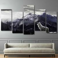 Oil Painting Pictures Mountains Online Shopping | Oil Painting ...