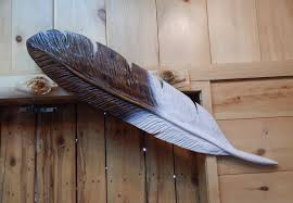 Image result for carved feather