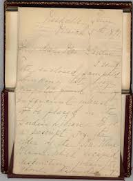 primary sources hist x edx click to examine this letter dated 1891 is bound the prescript pamphlet see transcript below