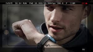 <b>Emporio Armani</b>: смарт-<b>часы</b> для делового человека