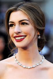 Image result for red lipstick pictures celebrities