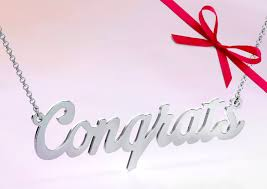 <b>Personalize</b> your own graduation <b>name necklace</b> #jewelry #myjewlr ...