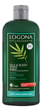 Logona <b>крем</b>-<b>шампунь с экстрактом бамбука</b> cream shampoo ...