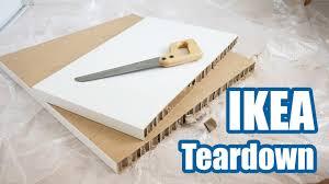 $9 IKEA Linnmon <b>Desk</b> Teardown - YouTube