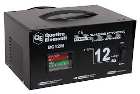 Зарядное <b>устройство QUATTRO ELEMENTI</b> BC12M 770-094 ...