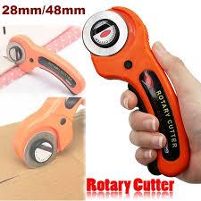 <b>28mm</b>/<b>45mm</b> Sewing <b>Rotary Cutters</b> Cloth Guiding Cutting Knife ...