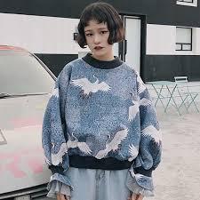 <b>Harajuku Sweatshirts Hoodies Women Korean</b> Ulzzang Vintage ...