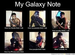 Samsung Galaxy Note thread, a phone so big smaller phones orbits ... via Relatably.com